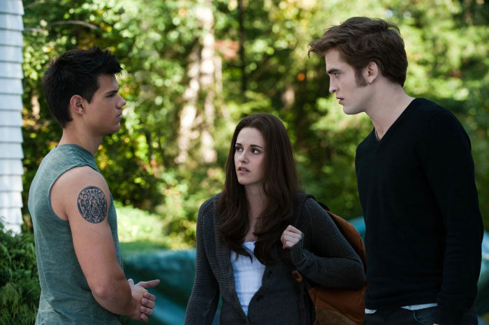 In the film categories, the dominant film was The Twilight Saga: Eclipse.