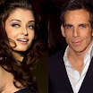 Aishwarya Rai and Ben Stiller