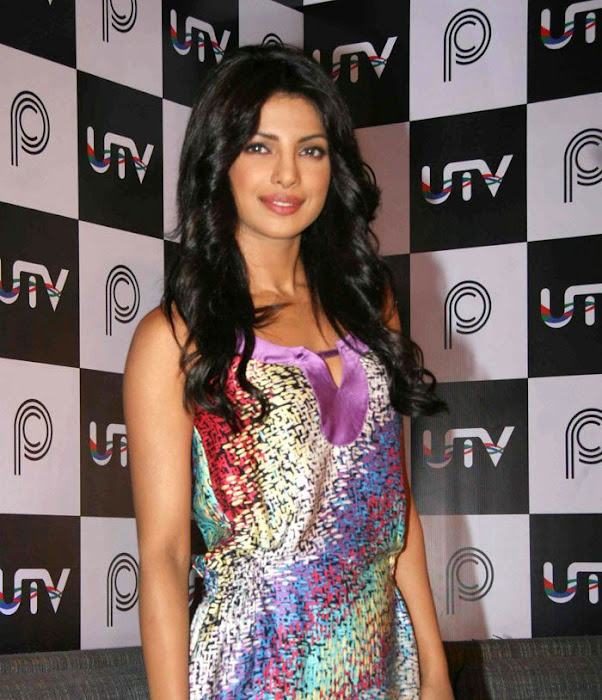 priyanka chopra gorgeous at utv interactives new digital avatar unseen pics