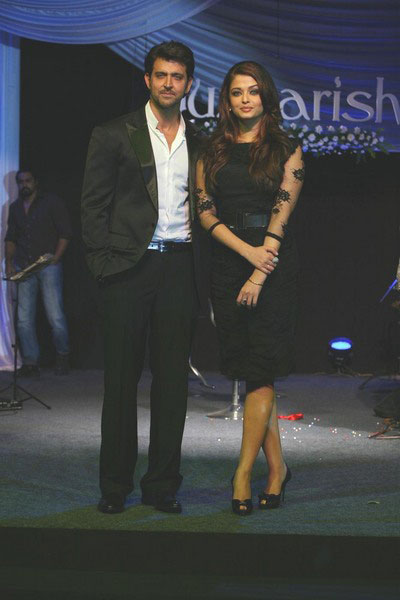 Aishwarya Rai at Guzaarish Music Launch
