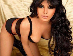 Sherlyn Chopra Dam Hot Cleavaga Photos
