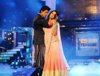 , Shahrukh Khan and Madhuri Dixit 56th Filmfare Awards