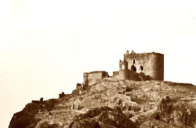Castillo de Jumilla 1917 (O. Vaillard)