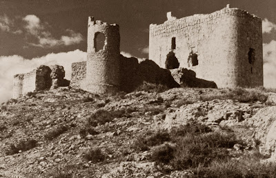 Castillo de Jumilla 1960 (D. Espinosa)