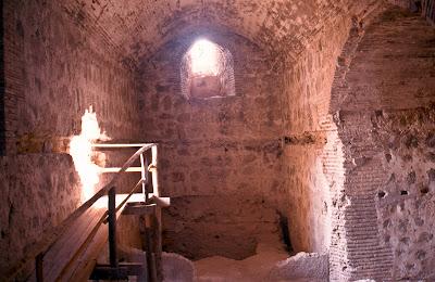 Castillo de Jumilla interiorde la torre 2000 (P. Guardiola)