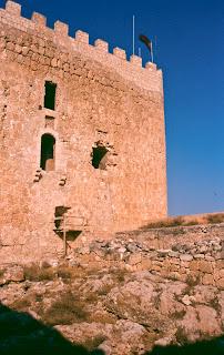 Castillo de Jumilla  Yorre del homenaje 2000 (P. Guardiola)