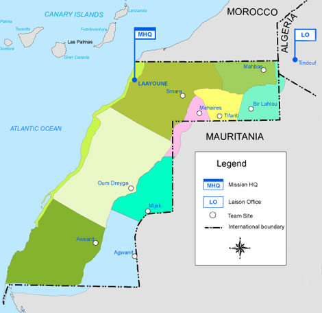 Western Sahara The Last Colony The Moroccan Occupation of Western