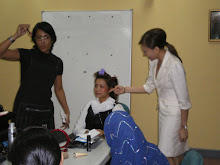 Demonstration On Hairstyling Tips And Haircare