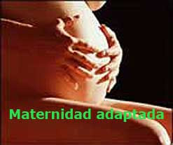 Enlace al Blog Maternidad adaptada