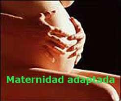 Enlace al Blog Maternidad adaptada