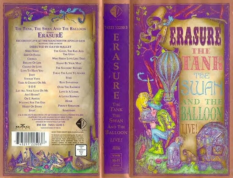Erasure Who Needs Love Like That Mexican Mix