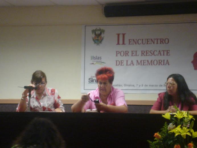 II Encuentro Nacional de Mujeres Ex Guerrilleras