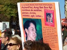 Libertad para Aung San Suu Kyi