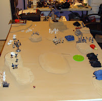 Eldar VS Imperial Guard