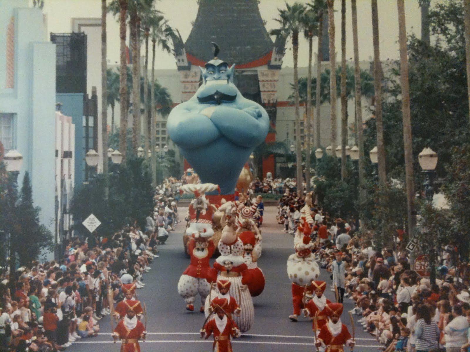 Anciennes Parades des Resorts Américains Aladdin+Parade