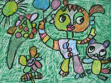 Lukisan Anak Adalah Ekpresi Jiwa Mereka