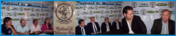 Festival de Marcoz Paz  5-6-7 de Diciembre 2008