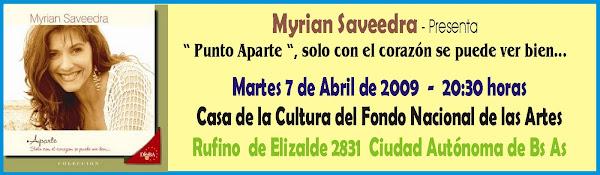 Presentacion de Myrian Saveedra 07/04/09
