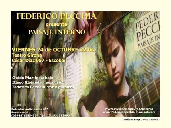 Presentacion de Federico Pecchia en Escobar 24/10/09