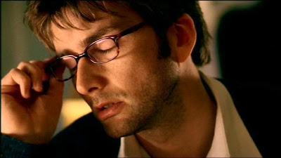 David Tennant in glasses