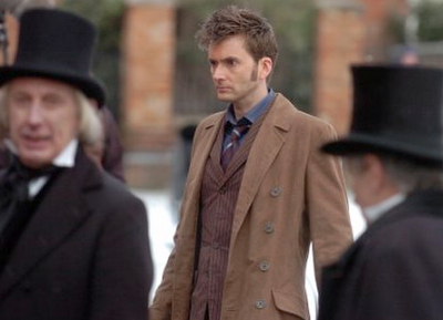 David Tennant in the 2008 Doctor Who Christmas Special