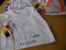 Camisetas para colorir