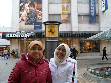 with mom at stuttgart germany