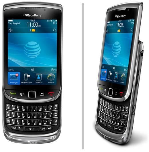 smartphone BlackBerry Torch 9800