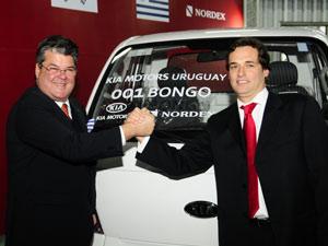 Kia começa a produção do caminhão bongo no Uruguai