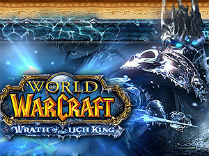 Arte do game on-line 'World of warcraft'.