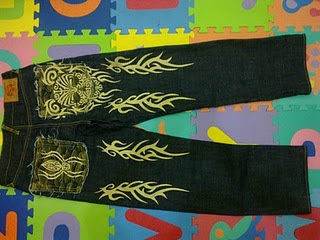 Red Monkey GOLD Spider and Skull Denim Jeans(Limited Edition)(SOLD)