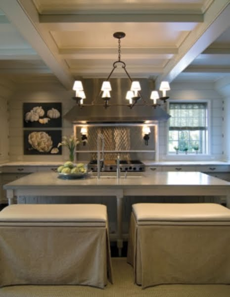 Exceptional The Skirted Benches Really Take The Edge Off What Appears To Be A Concrete  Counter Top On The ...