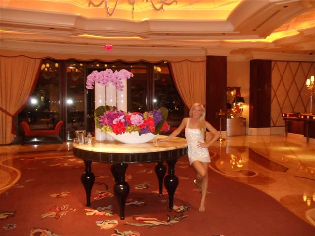 Photo - Me at the Wynn this summer