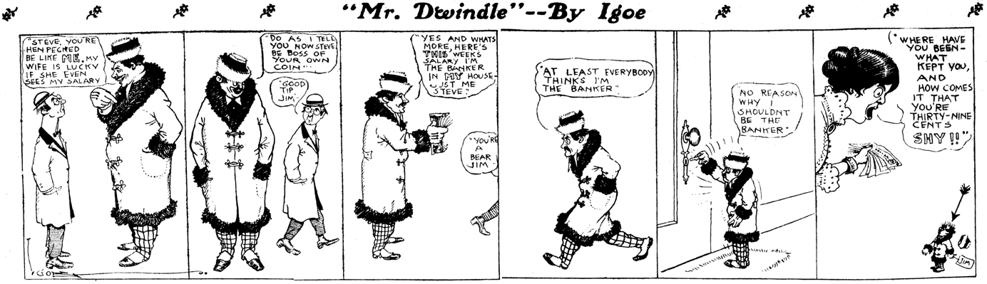 Perfect Obscurity Of The Day: Mr. Dwindle