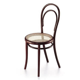 Treough michael thonet 39 s chair 1859 for Stuhl design 20 jahrhundert