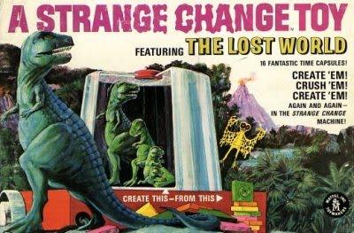 mattel strange change machine