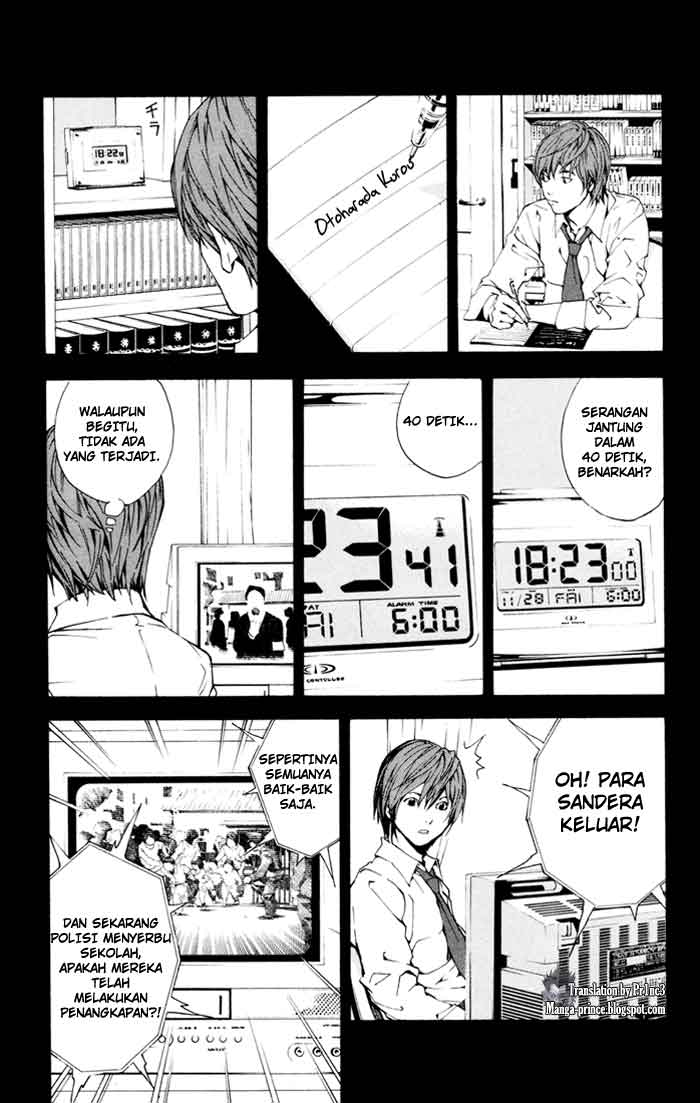 Death Note page 10
