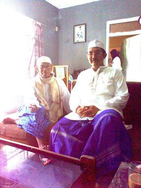 Foto bersama putra mertua pengurus Pesantren As Salam,Kp.Legok,Keresek Cibatu Garut