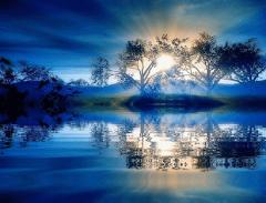 Naturaleza azul