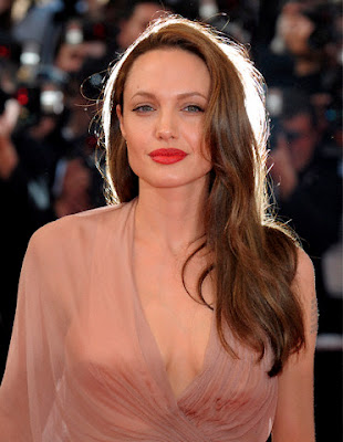 Angelina Jolie Straight Prom Hair Styles