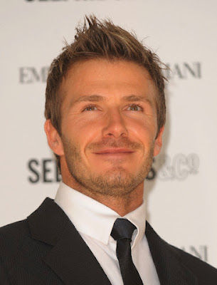 david beckham short hairstyle