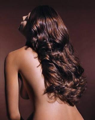 Camilla Belle wear Brown long bob hair styles arrives for the Chloe Los