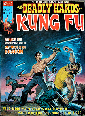 The Deadly Hands Of Kung Fu Comic