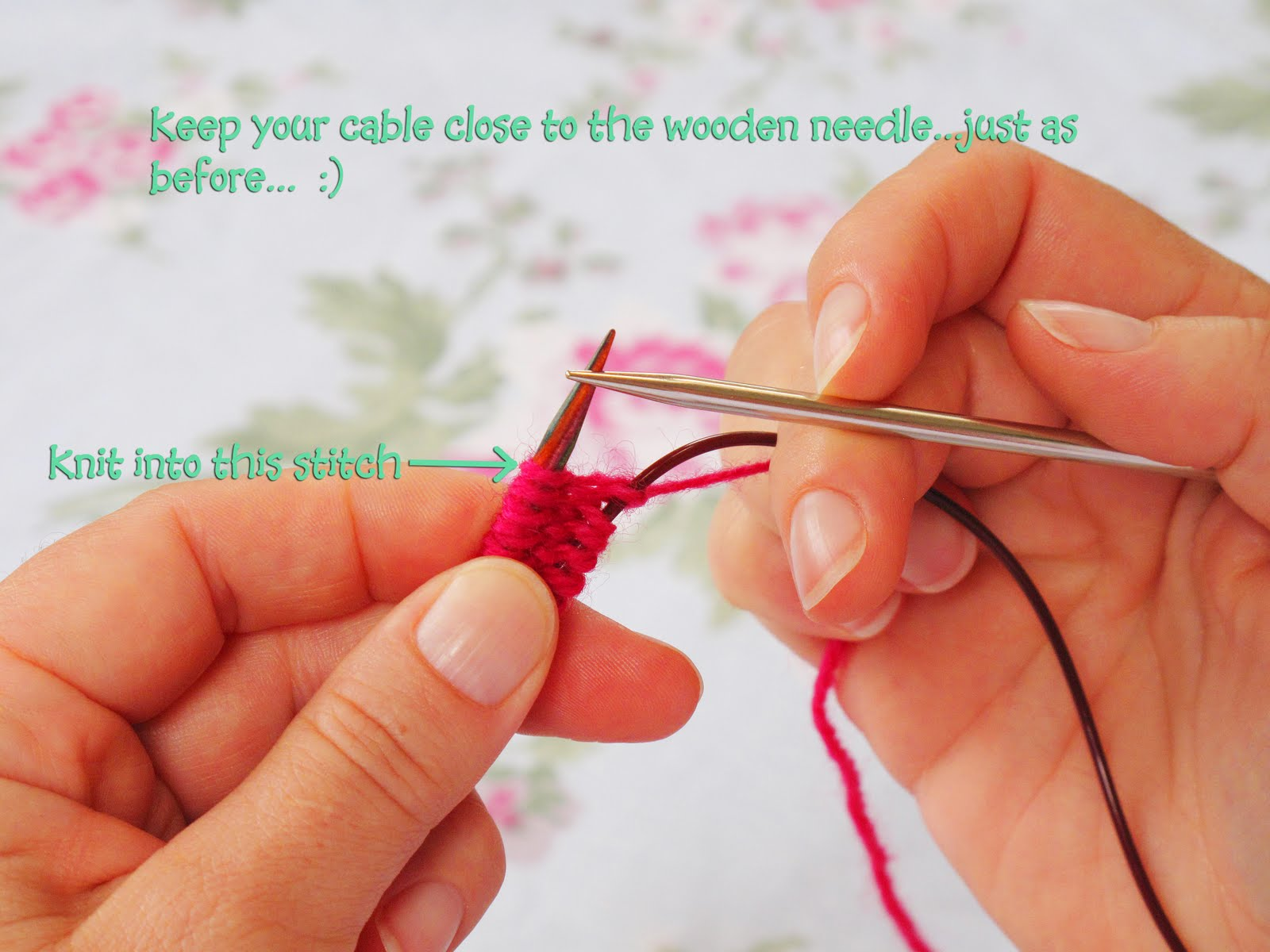 Joining Knitting In The Round Magic Loop : Heidi bears magic loop knitting tutorial