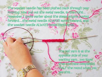 v e r y p i n k . c o m   Learn to Knit Magic Loop Socks