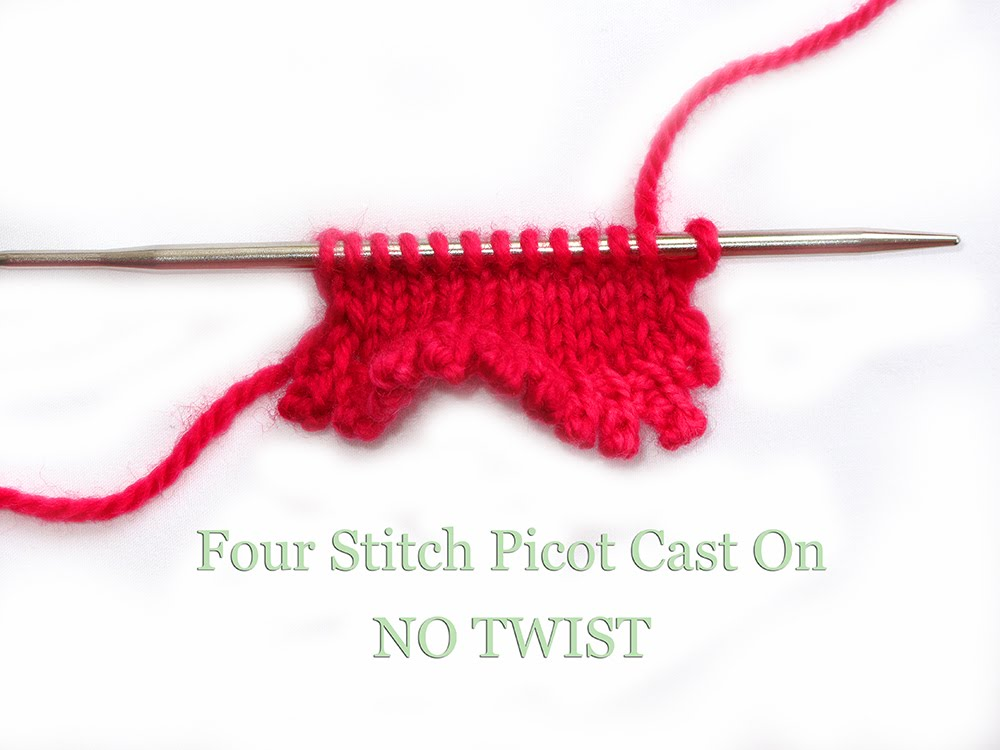 How To Cast On Stitches By Knitting Them On : Heidi Bears: The Pretty Picot Cast On...a Tutorial