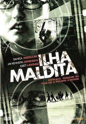 Filme Poster Ilha Maldita DVDRip XviD & RMVB Dublado