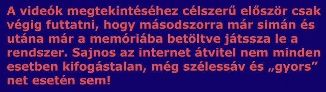 Technikai információ