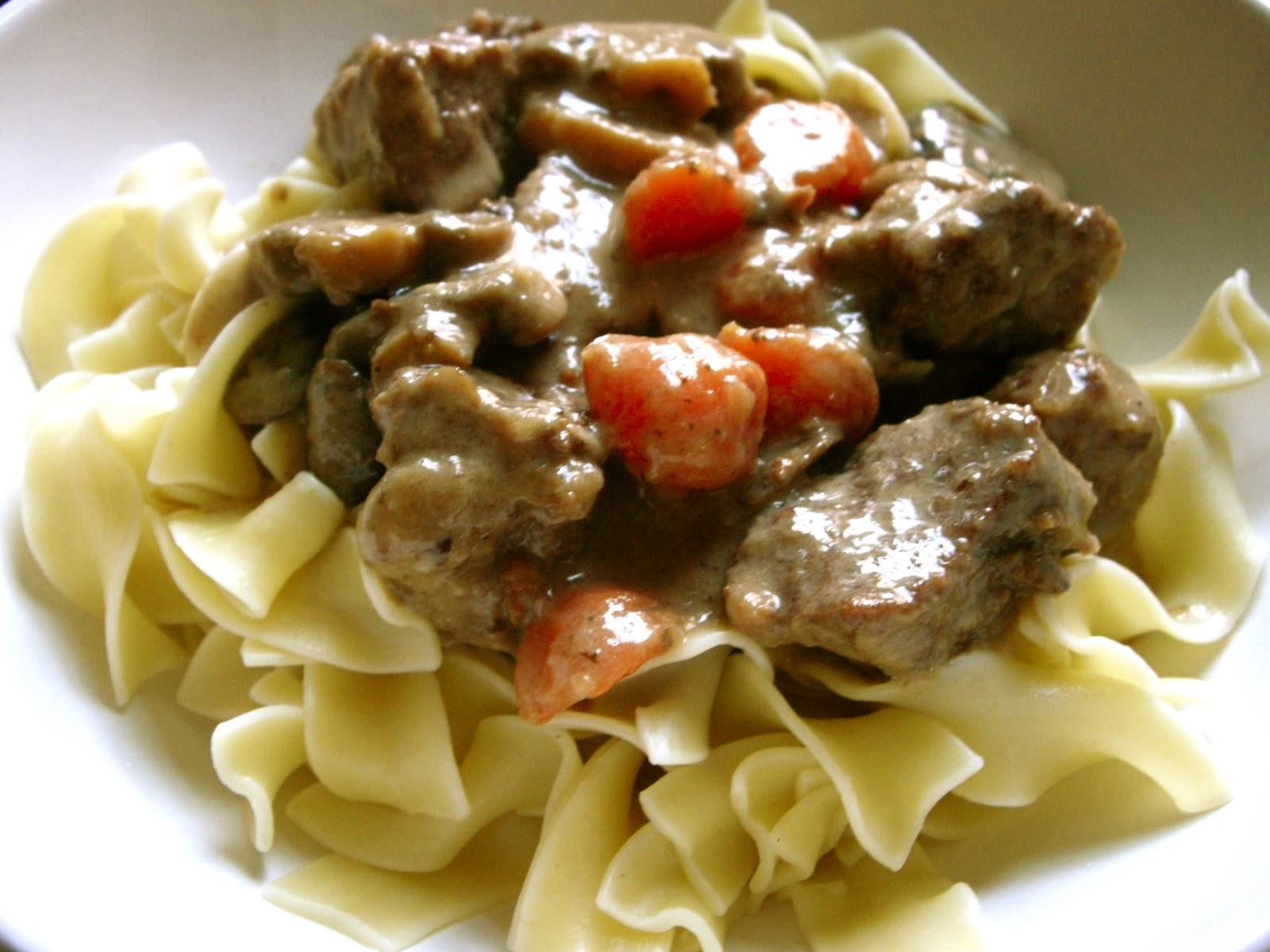 Foodism Mom: Beef Short Rib Stroganoff