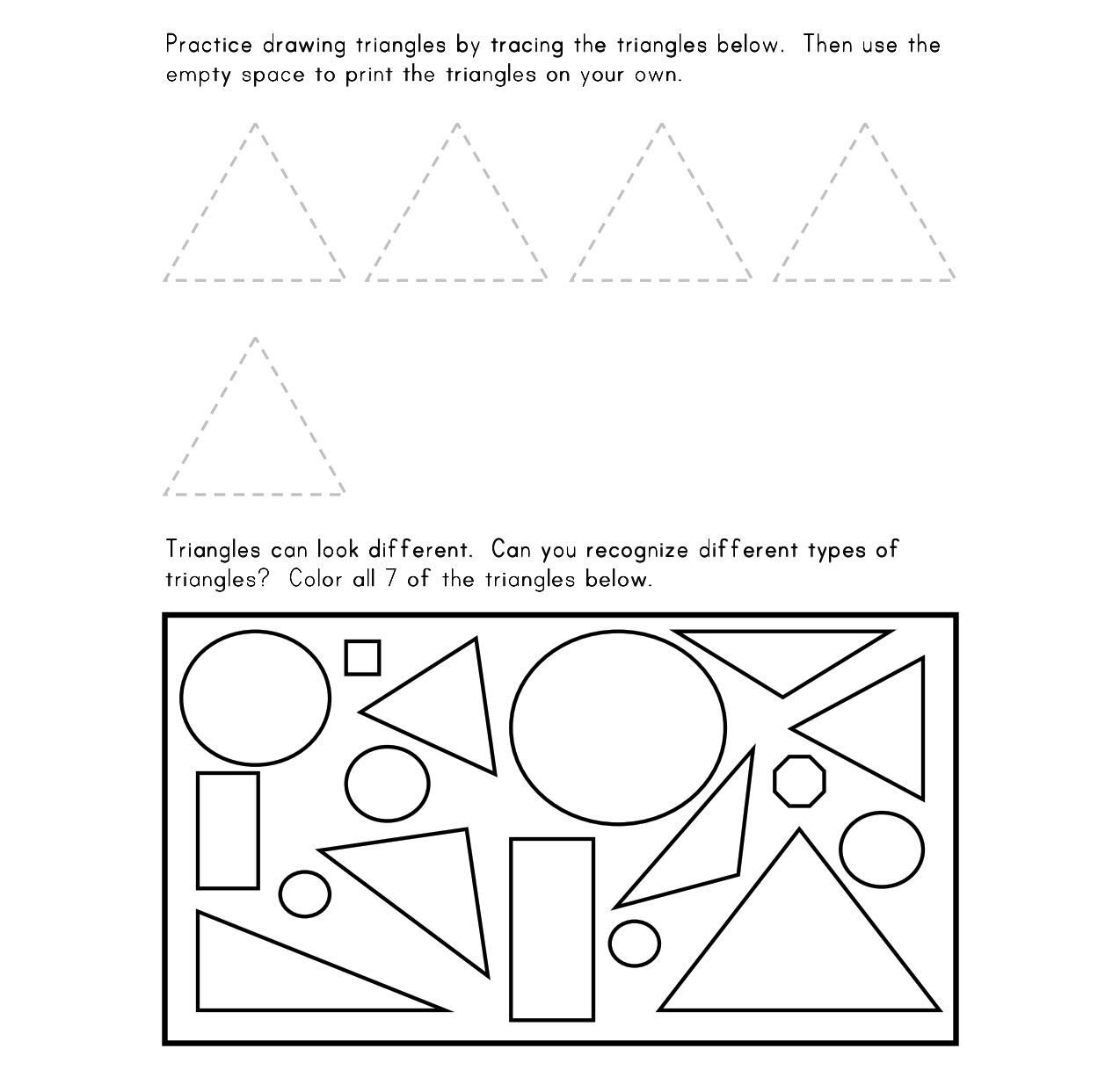 worksheet Soil Texture Triangle Worksheet types of triangles worksheet four quadrant graphs empowering new ideas education to upbring the child may 2010 triangle 05